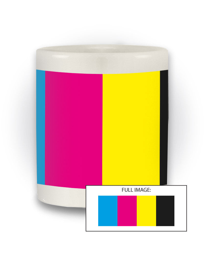 Graphic Design Inspired 'CMYK' Ink Mug