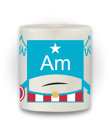 'Captain America Element' Mug