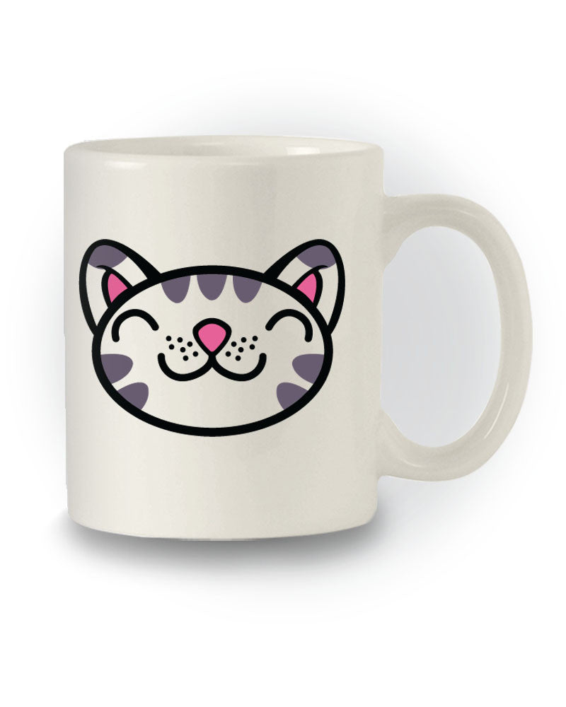Great Gift 'Cute Cat Face' Mug