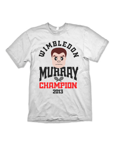 Champion Murray Wimbledon 2013