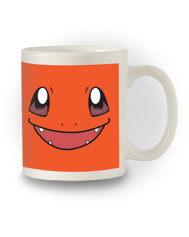 Retro Pokémon Inspired 'Charmander' Gaming Mug