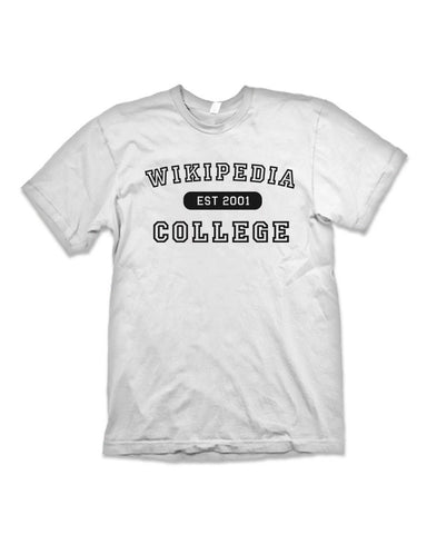 College Wikipedia Funny T-Shirt