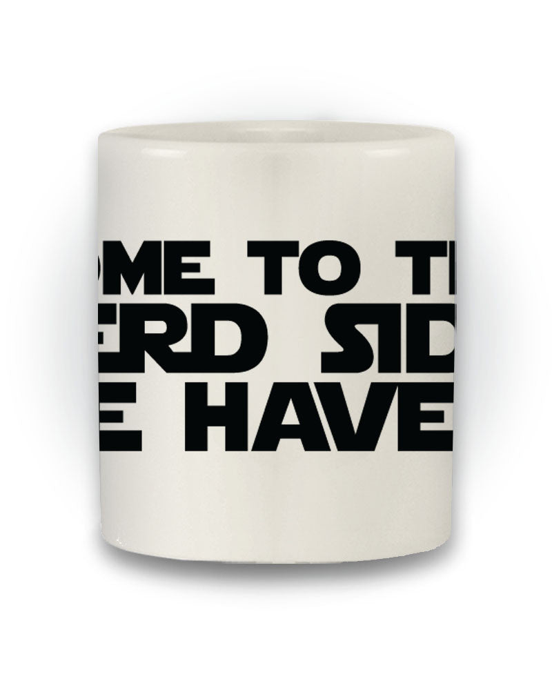 Star Wars Inspired 'Come To The Nerd Side' Mug
