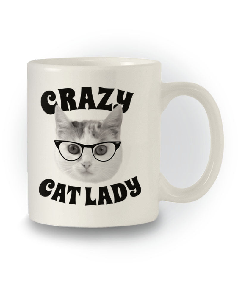 Great Gift 'Crazy Cat Lady' Funny Mug