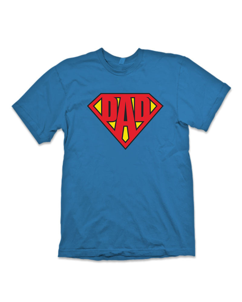 Dad Superman Logo