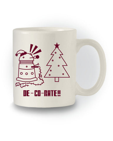 Dalek 'De-Co-Rate' Sci-Fi Doctor Who Inspired Mug