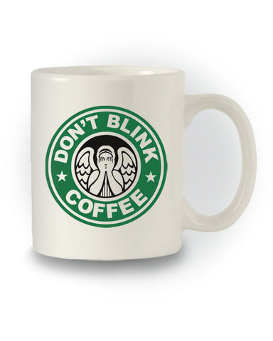 Doctor Who Sci-Fi Inspired 'Don't Blink - Coffee' Mug