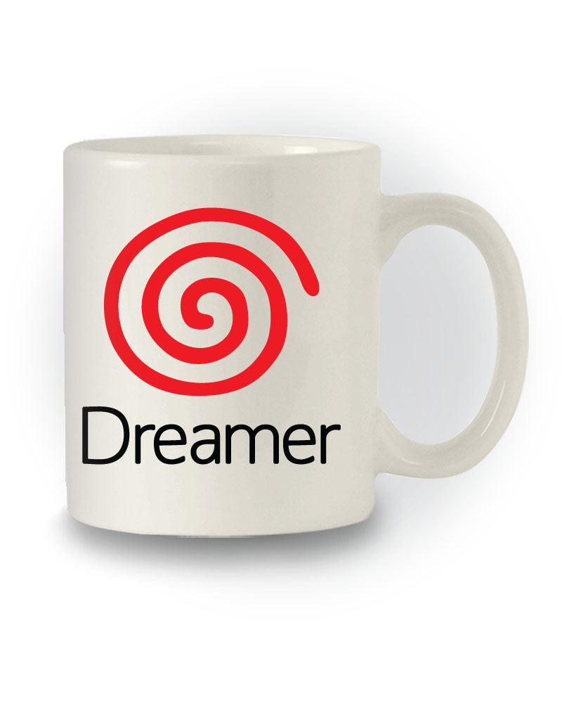 Retro Gaming 'Dreamer' Dreamcast Inspired Mug
