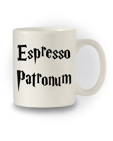 Harry Potter Inspired 'Espresso Patronum' Nerdy Mug