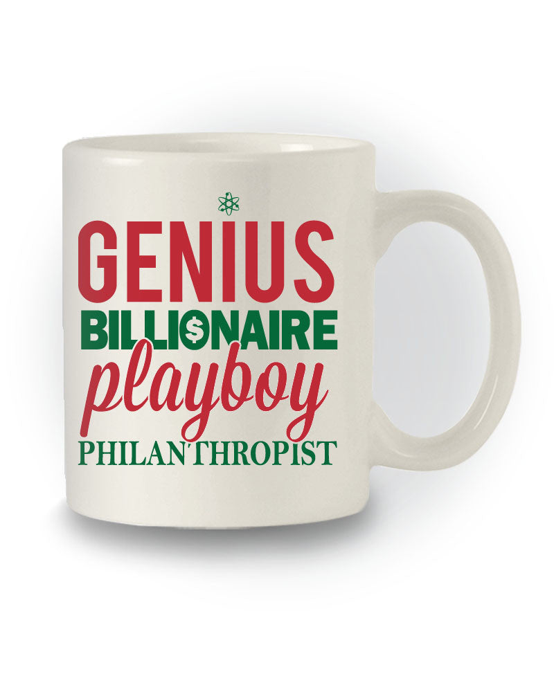 Superhero Inspired 'Genius Billionaire Playboy Philanthropist' Mug