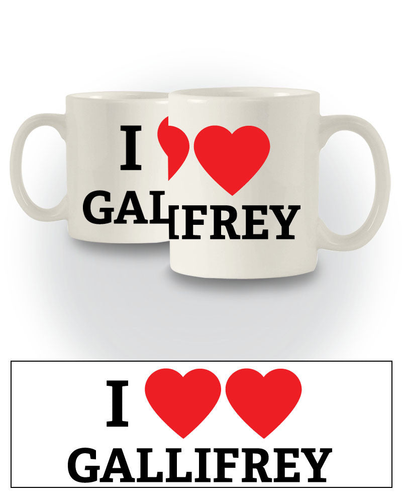 Doctor Who Inspired 'I Heart Gallifrey' Sci-Fi Mug