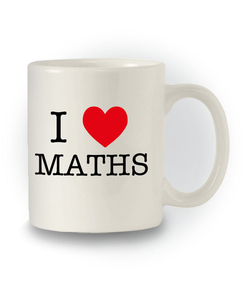 I Heart Maths' Funny Great Gift Mug