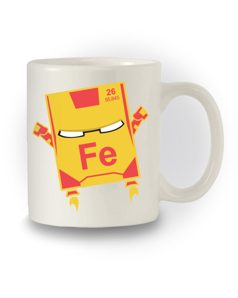 Iron Man Element' Superhero Inspired Nerdy Mug
