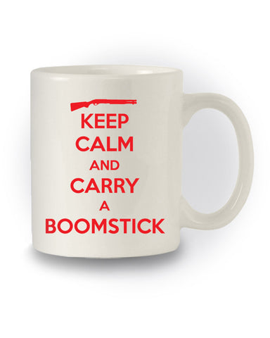 Army of Darkness Inspired 'Keep Calm And Carry A Boomstick'