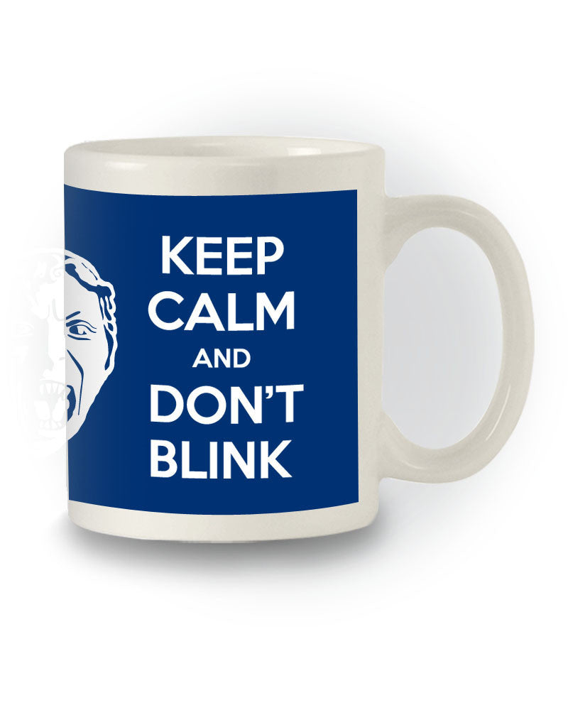 Doctor Who Sci-Fi Inspired 'Keep Calm and Don't Blink' Mug
