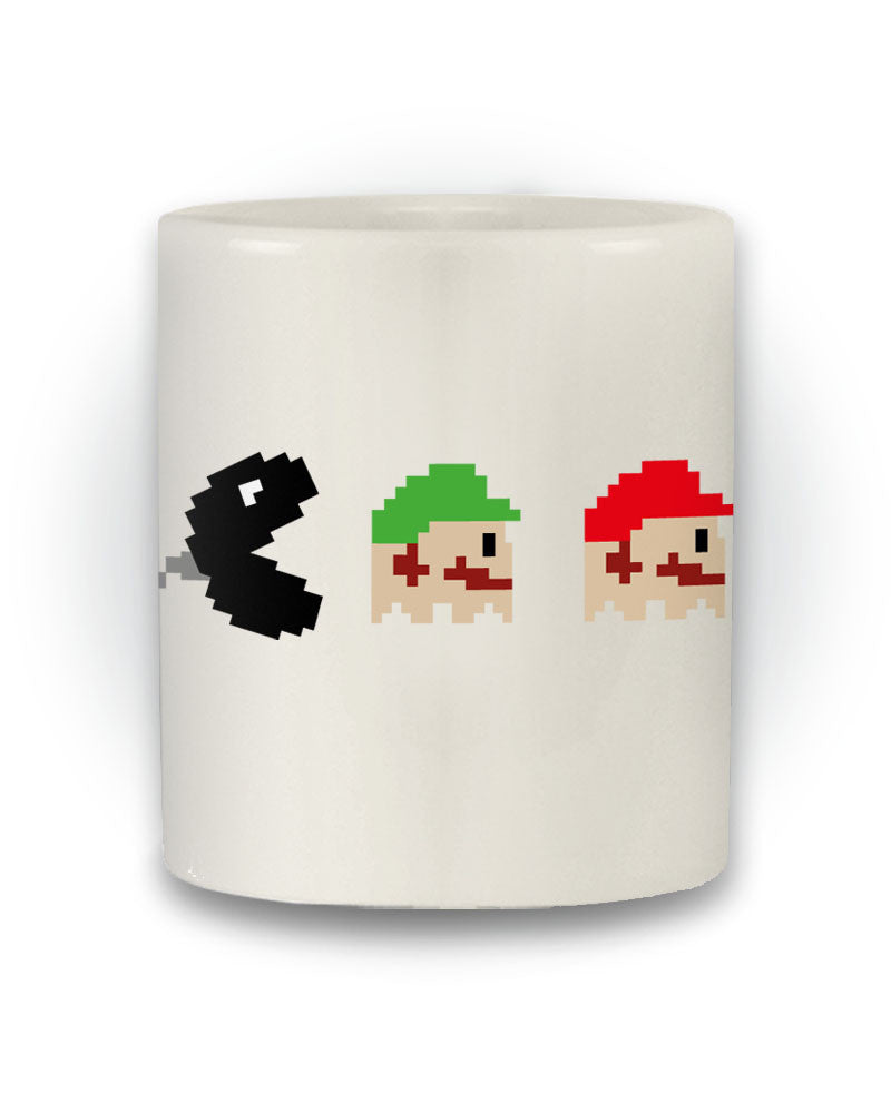 Gaming Inspired Retro 'Mario Pac-Man' Mug