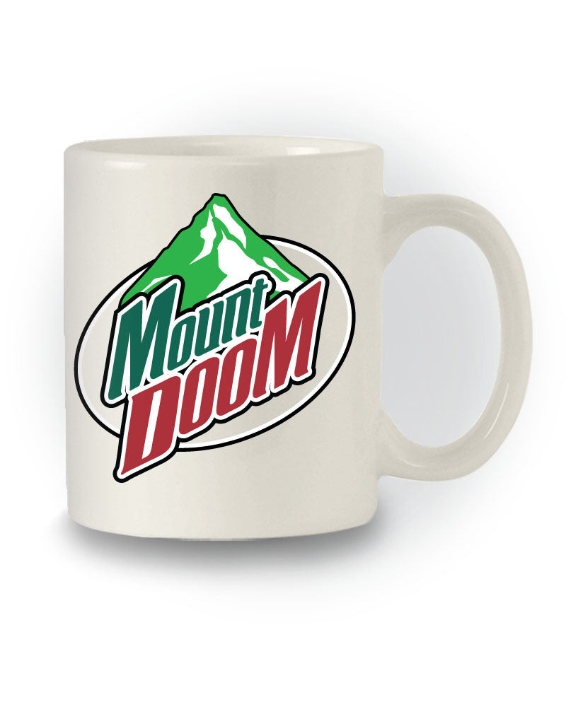 Mount Doom Logo' Geeky Lord of the Rings Inspired Mug