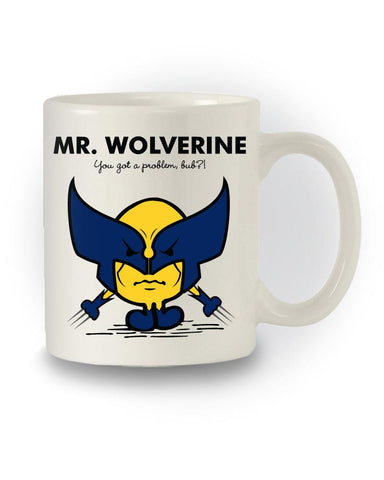 'Mr Wolverine' X-Men Mug