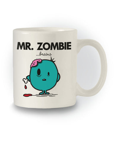 Mr Men Inspired 'Mr Zombie' Mug