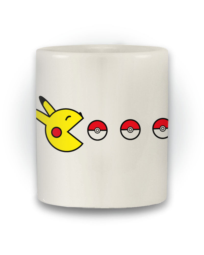 Pokémon Inspired 'Pikachu Pac-Man' Retro Mug
