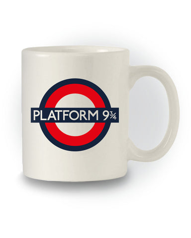 Platform 9 ¾' Harry Potter Inspired Mug