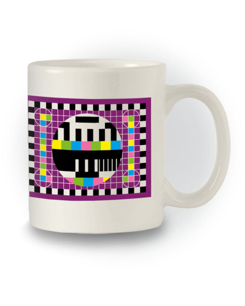 TBBT Inspired 'Sheldon TV Test Pattern' Nerdy Mug