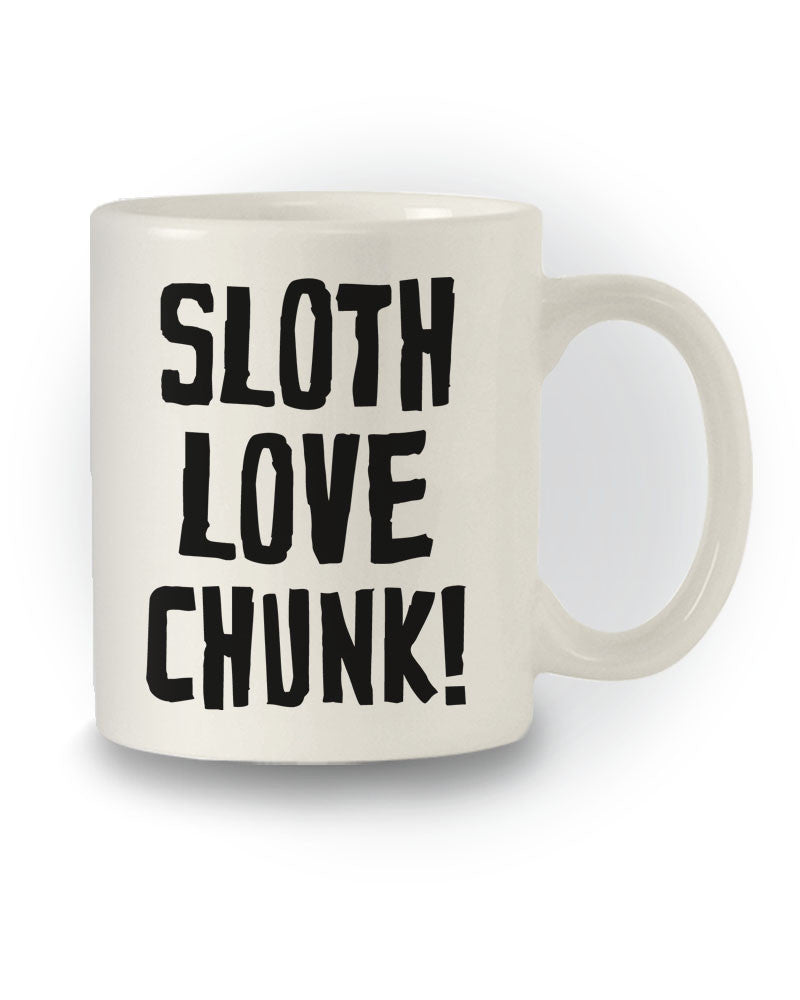 Sloth Love Chunk' The Goonies Inpired Film Mug