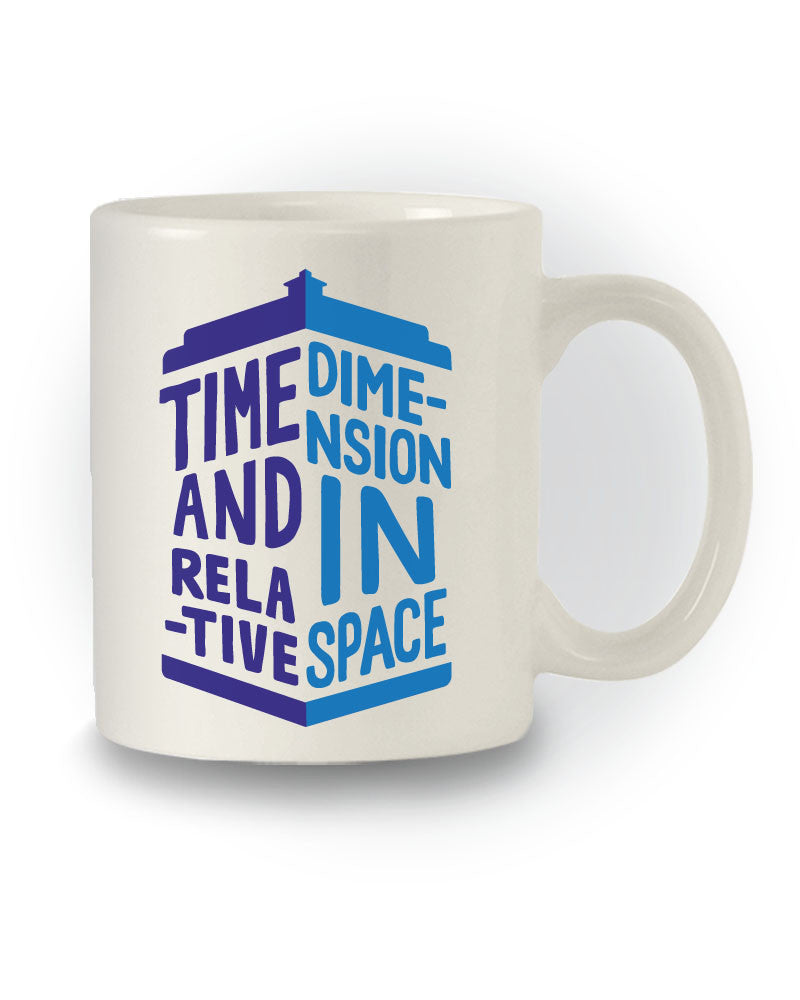 Doctor Who Inspired 'T.A.R.D.I.S' Sci-Fi Mug
