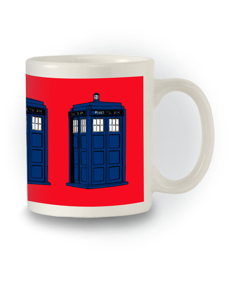 Doctor Who Sci-Fi Inspired 'Tardis' Nerdy Mug