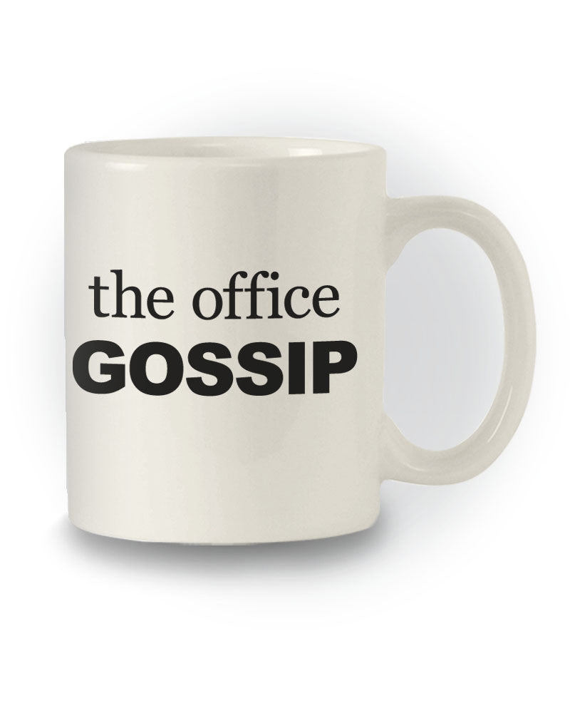 Great Gift 'The Office Gossip' Work Mug