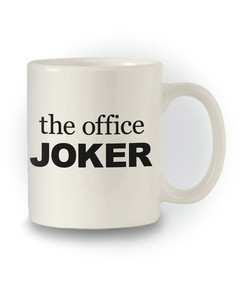 Great Gift 'The Office Joker' Work Mug