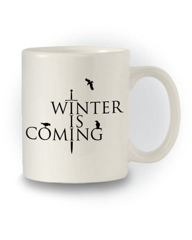 Game of Thrones Inspired 'Winter Is Coming' Mug