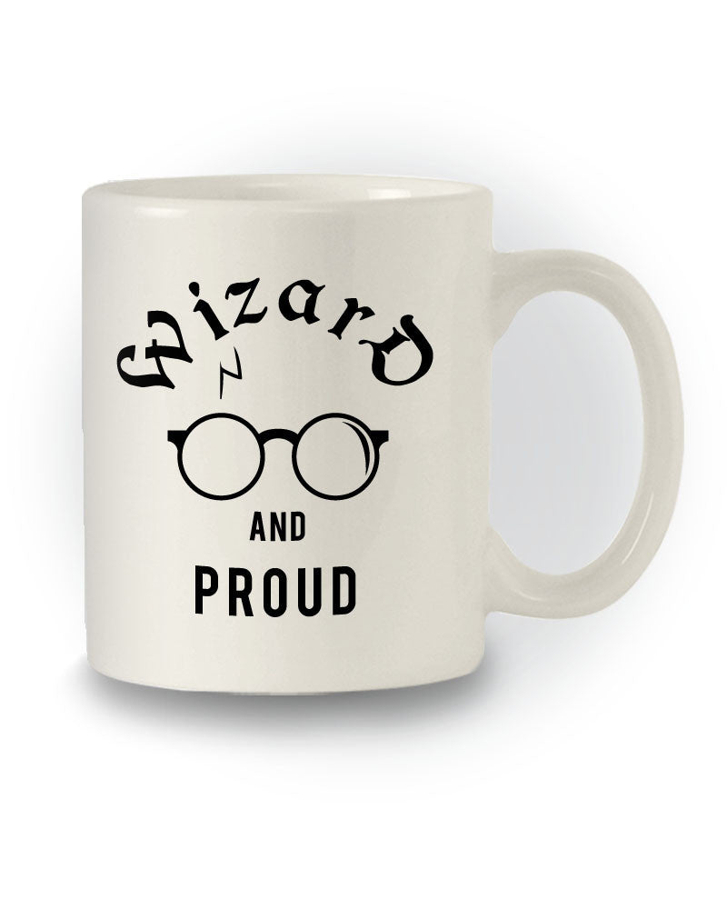 Harry Potter Inspired 'Wizard and Proud' Mug