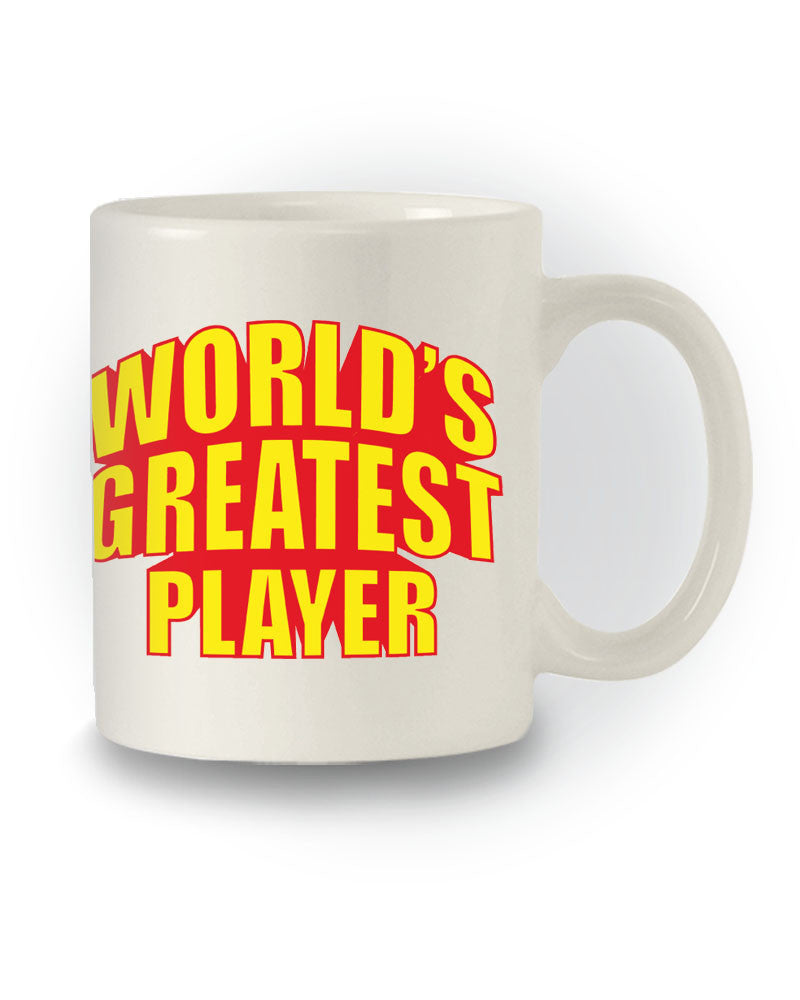 World's Greatest Player' Great Gift Mug