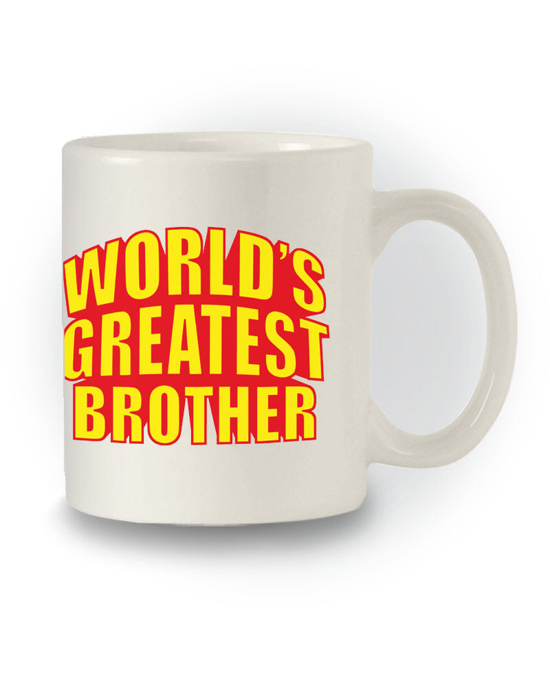 World's Greatest Brother' Great Gift Mug