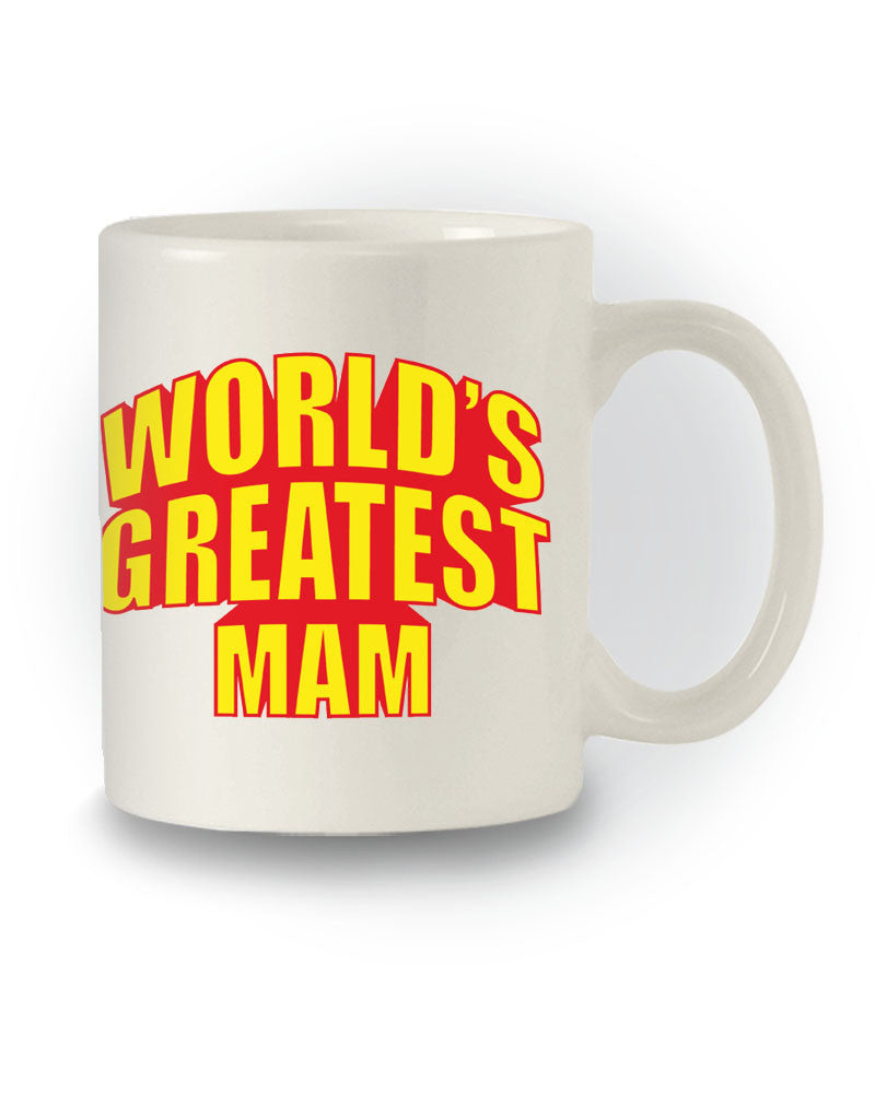 World's Greatest Mam' Great Gift Mug