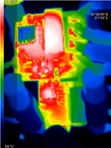 Thermal image for GigaBlox Rugged 4