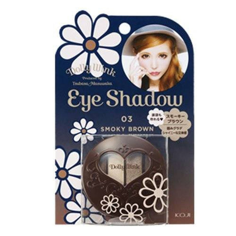 DOLLY WINK Eye Shadow Smoky #3 Brown
