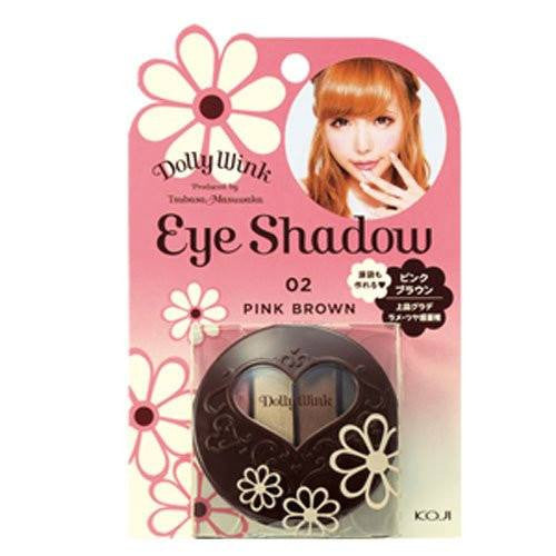 DOLLY WINK Eye Shadow Pink #2 Brown