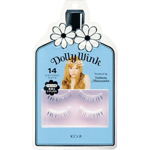 DOLLY WINK False Eyelashes #14 Nature Cute