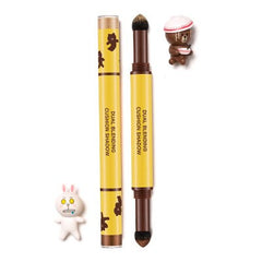 MISSHA Dual Blending Cushion Shadow--Amande Chocolate (Line Friends Limited Edition) | 谜尚双重气垫眼影--杏仁咖(Line Friends限量版)