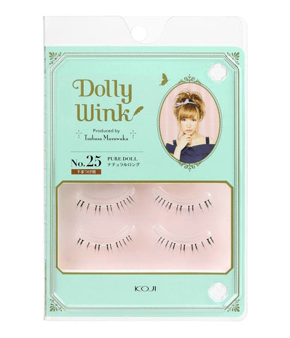 DOLLY WINK False Eyelashes #25 Pure Doll