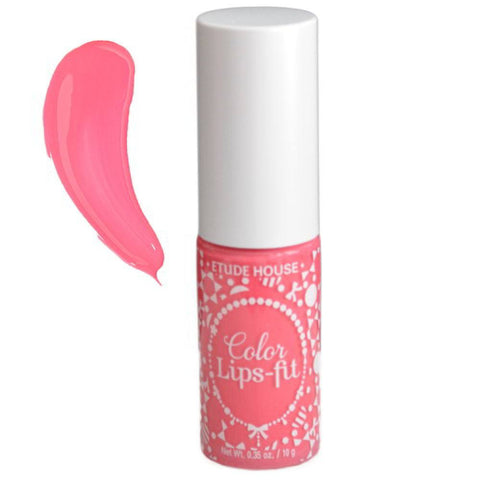 ETUDE HOUSE Color Lips Fit--PK001 Bright Milky Pink