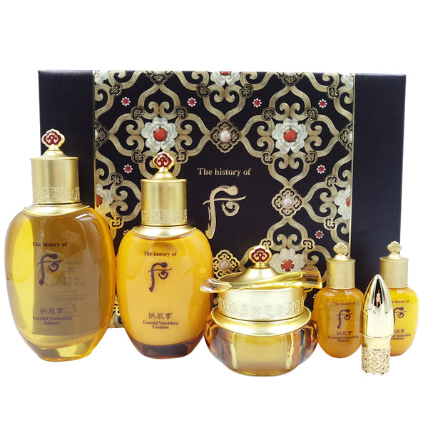 THE HISTORY OF WHOO GongJinHyang Qi & Jin 6 Pieces Set