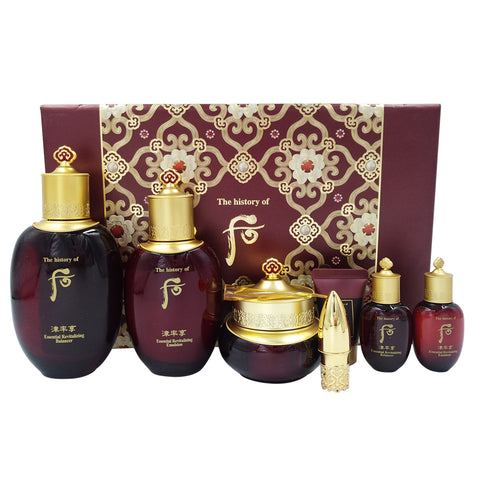 THE HISTORY OF WHOO Jinyulhyang Jinyul 7 pieces Set