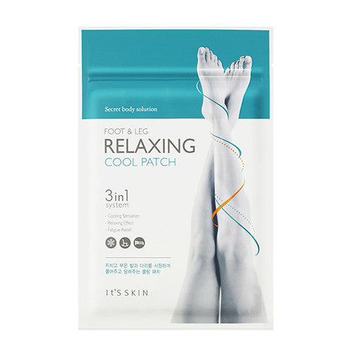 IT'S SKIN Secret Body Solution Foot and Leg Relaxing Cool Patch