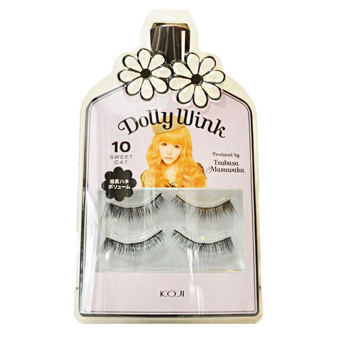 DOLLY WINK False Eyelashes #10 Sweet Cat
