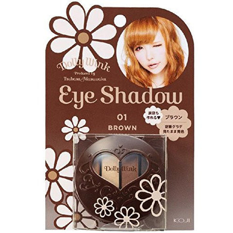 DOLLY WINK Eye Shadow #1 Brown