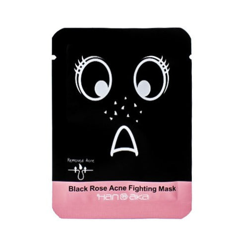 HANAKA Black Rose Acne Fighting Mask (1pc)