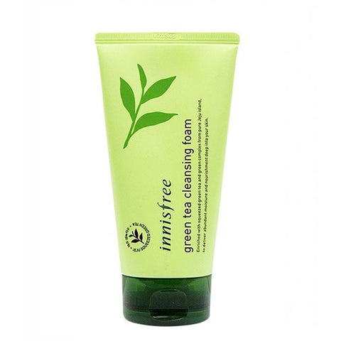 INNISFREE Green Tea Cleansing Foam 5 fl.oz